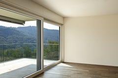 Пустая комната с окном Стоковая Фотография RF