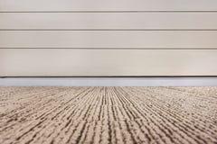 Пустая комната с полом стены и настилки ковров Стоковые Фотографии RF