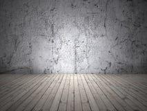 Пустая комната с светом Стоковая Фотография