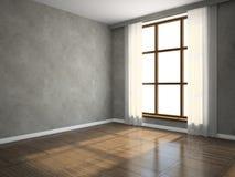 пустая комната части иллюстрация штока