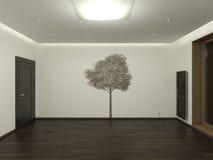 пустая комната иллюстрация штока