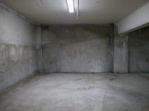 Пустая конкретная комната Стоковые Фотографии RF