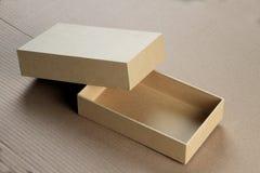 Пустая коробка карточной платы для модель-макета Стоковая Фотография RF