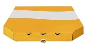 Пустая коробка коробки для изолированной пиццы Стоковые Изображения RF