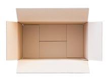 Пустая коробка коробки Стоковая Фотография