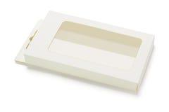 Пустая коробка пакета продукта Стоковая Фотография RF