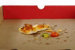 Пустая коробка пиццы Стоковое фото RF