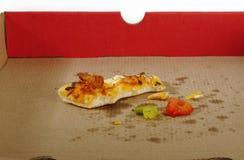 Пустая коробка пиццы Стоковое Фото