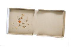Пустая коробка пиццы стоковые фото