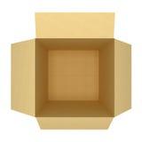 Пустая коробка иллюстрация вектора