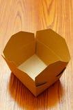 Пустая коробка Стоковое Фото