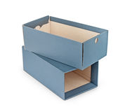 пустая коробка Стоковое фото RF
