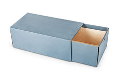 пустая коробка Стоковое Изображение