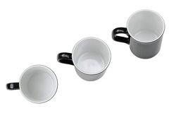 Пустая кофейная чашка Стоковые Фотографии RF