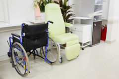 пустая кресло-коляска Стоковая Фотография