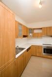 пустая кухня Стоковые Изображения