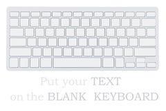 Пустая клавиатура Стоковые Изображения RF