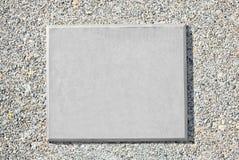 Пустая металлическая пластинка металла Стоковое Фото