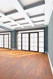 пустая нутряная живущая комната Стоковая Фотография RF