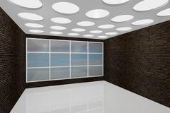 пустая нутряная новая комната бесплатная иллюстрация