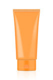 Пустая оранжевая трубка Стоковое фото RF