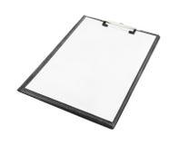 Пустая доска сзажимом для бумаги Стоковое Изображение RF
