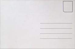 пустая открытка Стоковые Фото