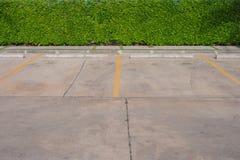 Пустая парковка автомобиля Стоковые Изображения