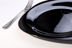 пустая плита вилки Стоковое Изображение RF