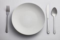 пустая плита кухни Стоковые Фото