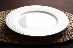 пустая плита Стоковое Изображение RF