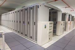 Пустая прихожая башен сервера Стоковые Изображения RF