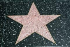 пустая прогулка звезды славы Стоковая Фотография RF