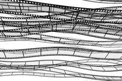 пустая прокладка пленки иллюстрация вектора