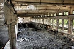 пустая промышленная комната Стоковое Изображение
