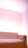 пустая простая софа комнаты Стоковые Фото