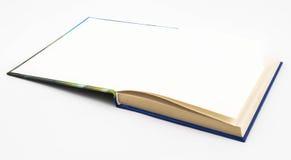 Пустая пустая белая книга Стоковая Фотография RF