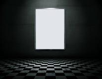 пустая пустая комната металла рамки бесплатная иллюстрация