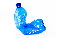 Пустая пластичная бутылка Стоковое фото RF