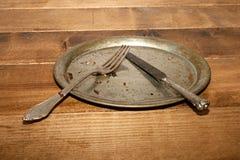 пустая плита Стоковая Фотография
