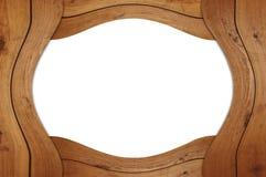 пустая рамка деревянная Стоковое фото RF