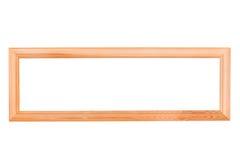 пустая рамка длиной деревянная Стоковое Изображение RF