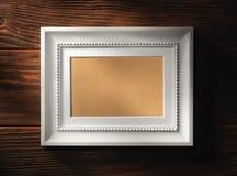 пустая рамка деревянная Стоковое Изображение RF