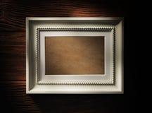 пустая рамка деревянная Стоковые Фотографии RF