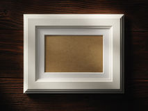 пустая рамка деревянная Стоковые Изображения RF