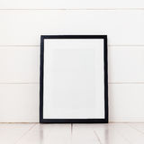 Пустая рамка на белой предпосылке Стоковые Изображения RF