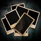 Пустая рамка фото на grunge Стоковые Фотографии RF