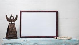 Пустая рамка для надписи Стоковая Фотография RF