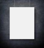 Пустая реклама афиши Стоковые Фотографии RF