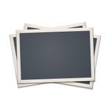 Пустая ретро рамка фото Стоковое Изображение